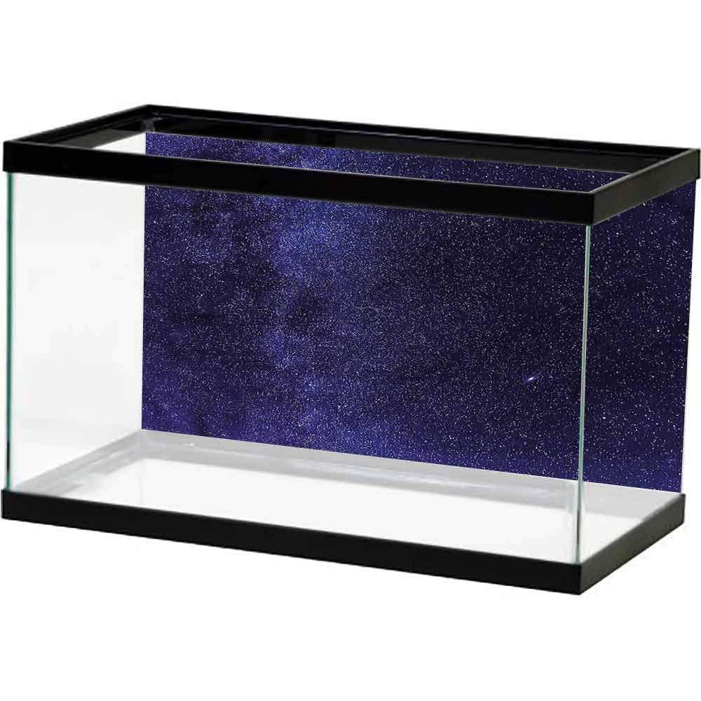 SLLART Decorative Pictures Dark Blue,Milky Way Cosmos Galaxy Decals Poster by SLLART