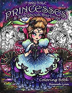 Nightfall coloring book originally published in sweden as fairy tale princesses storybook darlings coloring book fandeluxe Images