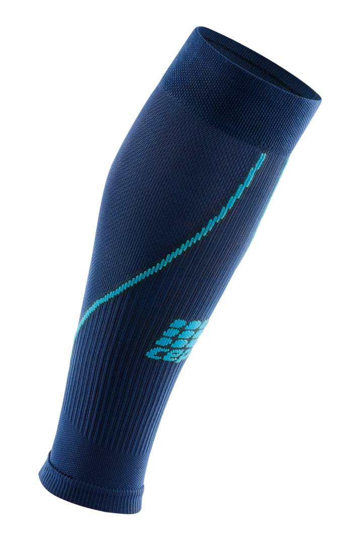 CEP Womens Calf Compression Sleeves Running 2.0 (Deep Ocean/Hawaii Blue) II by CEP (Image #1)