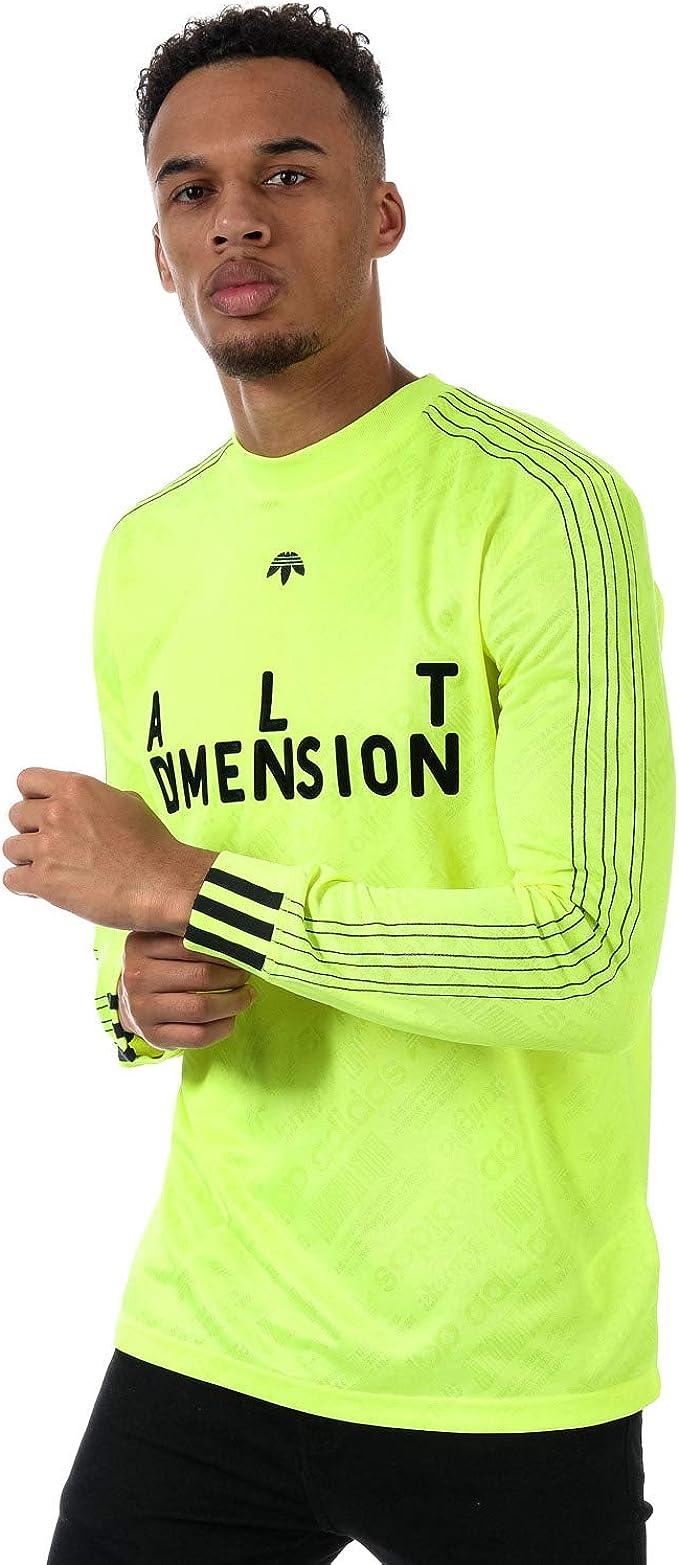 adidas Originals Top Alenxander Wang Soccer LS Jaune Homme