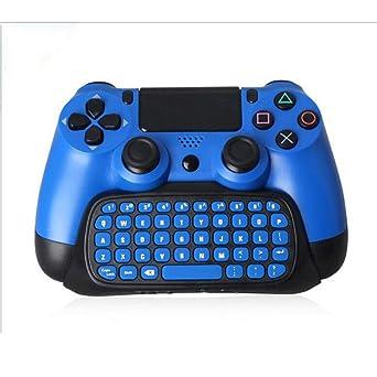 PS4 Juegos Controlador inalámbrico USB Gamepad Joystick Supporta PS4 Game Controller Con un teclado