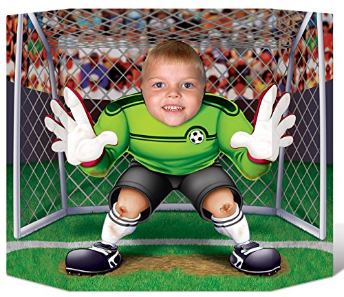 Beistle Soccer Photo Prop, 3-Feet 1-Inch by 25-Inch