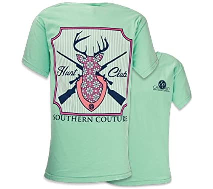c2e7fefc8 Southern Couture SC Comfort Hunt Club Womens Classic Fit T-Shirt - Island  Reef,