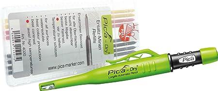 Pica Dry Ersatzminen für Baumarker grün weiß wasserfest blau 8 Mienen