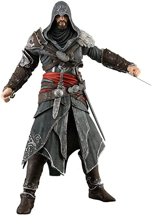 Songdp Comic Statue Anime Toy Assassin S Creed 3 Ezio Movable