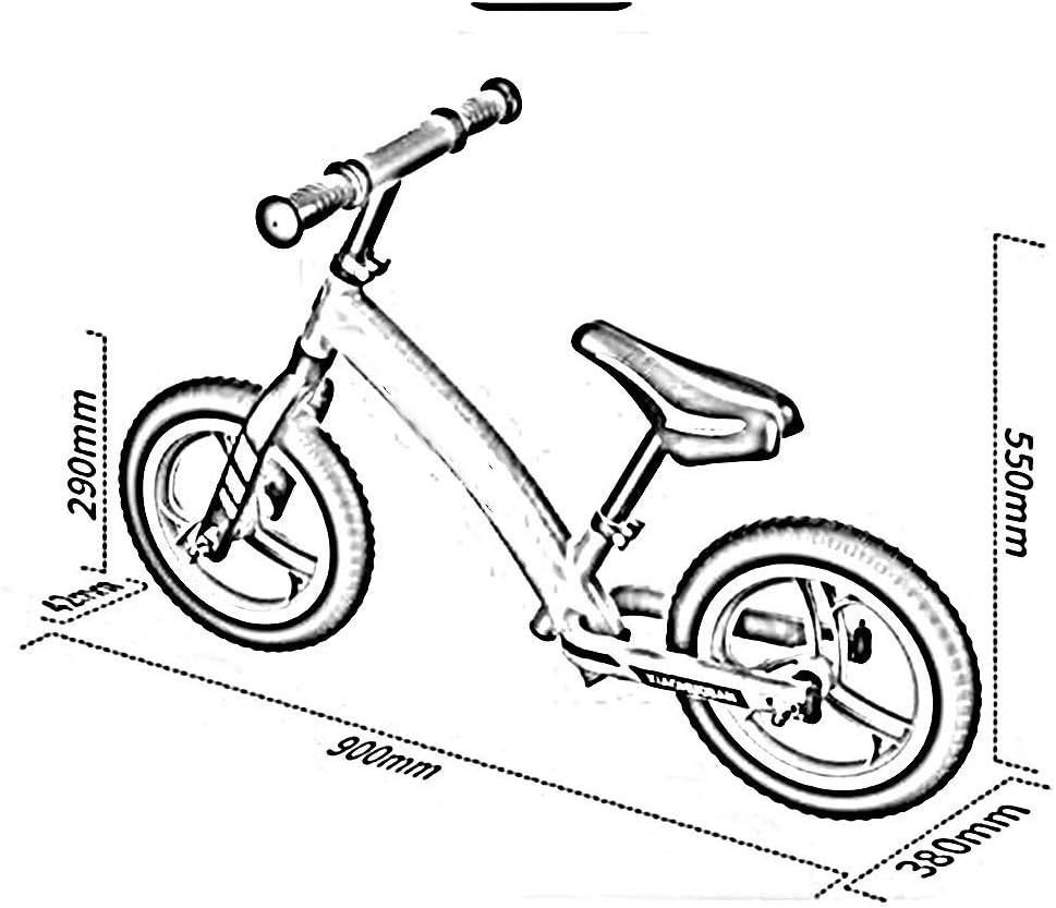 ZLSANVD Bicicletas Equilibrio niños, Estructura Ligera de Acero al ...
