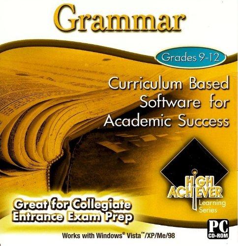 High Achiever Grammar by PC Treasures