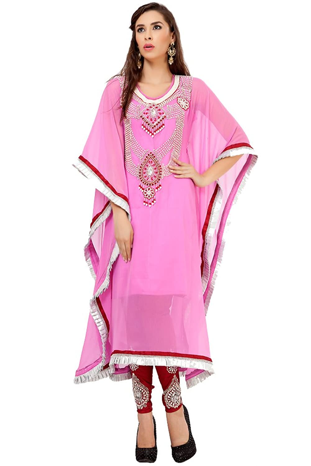 PalasFashion Salwar Kameez Designer Kaftan Dress Women's KKPF1035