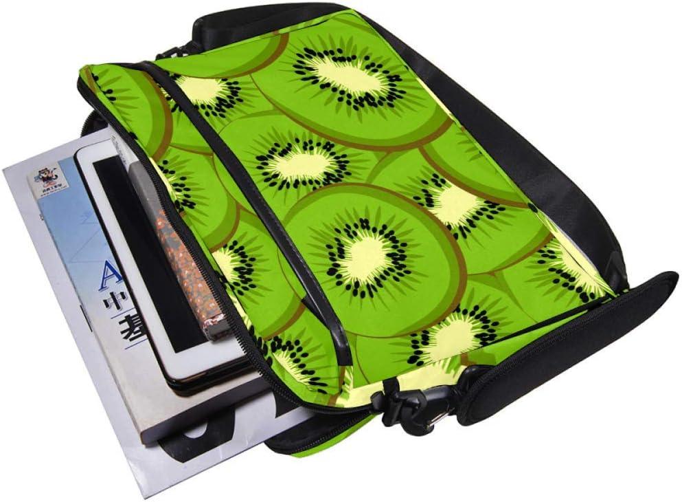 Lightweight 15 inch Laptop Bag Business Messenger Briefcases Cartoon Kiwi Bag Case Sleeve Computer Tablet Shoulder Bag Carrying Case Handbag for Men and Women