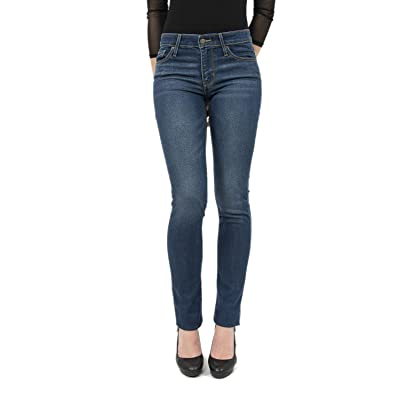 28/34 jeans levis 712 slim bleu