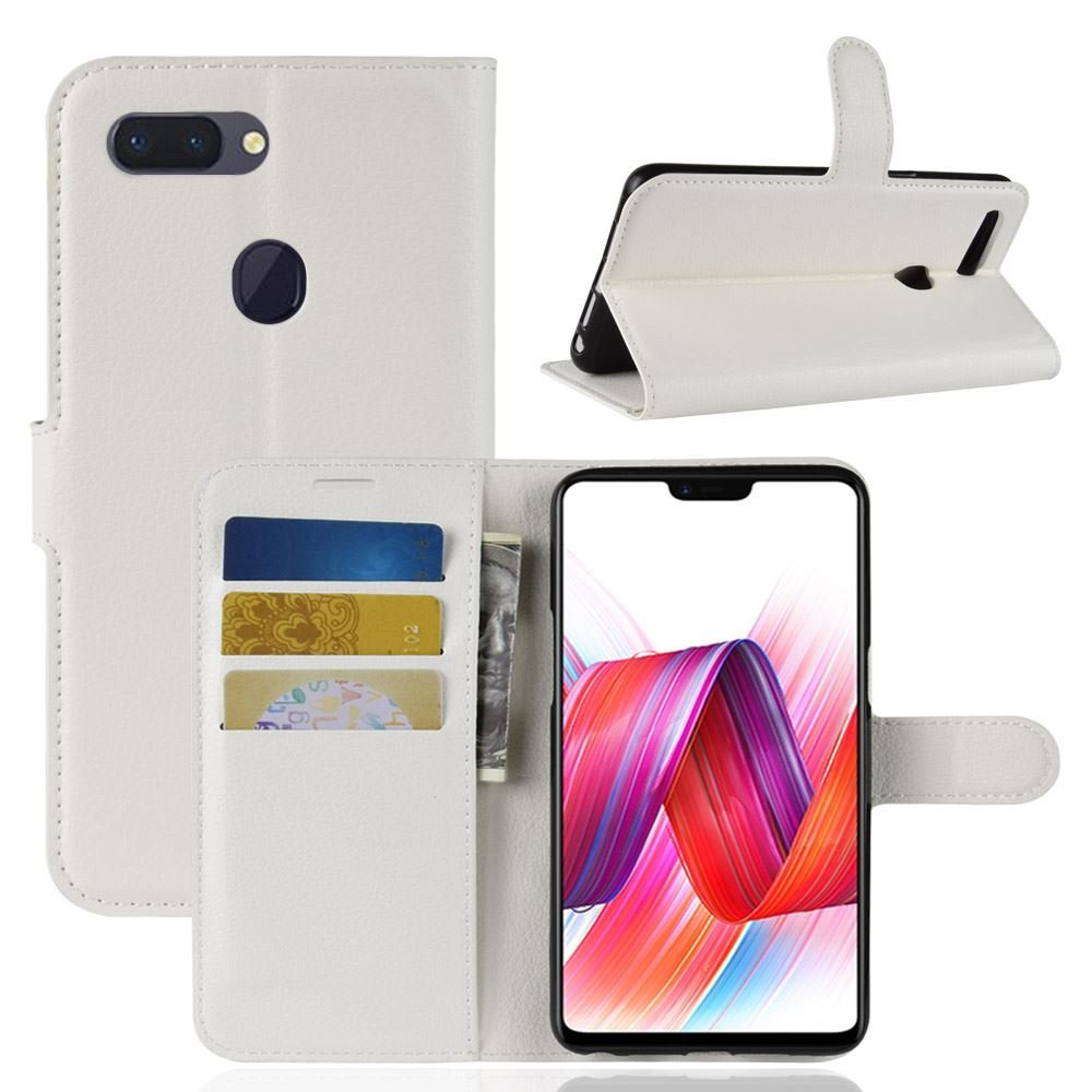 Amazon com: DISLAND OPPO R15 Standard Case [Wallet Case] PU