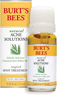 product image for Burt's Bees Natural Acne Solutions Targeted and Minimizing Spot Treatment for Oily Skin, 0.26 Oz (Package May Vary)