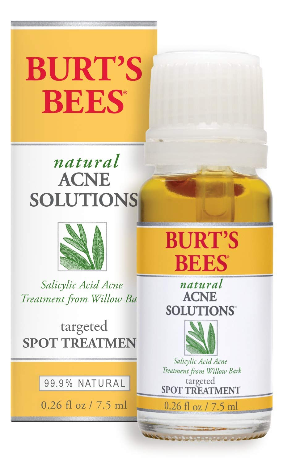 Amazon Com Burt S Bees Natural Acne Solutions Targeted Spot