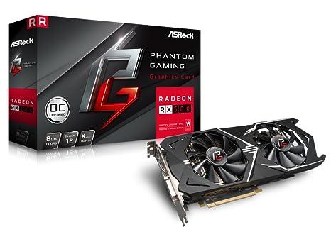 Asrock Phantom GXR RX580 8G OC Radeon RX 580 8GB GDDR5 - Tarjeta ...