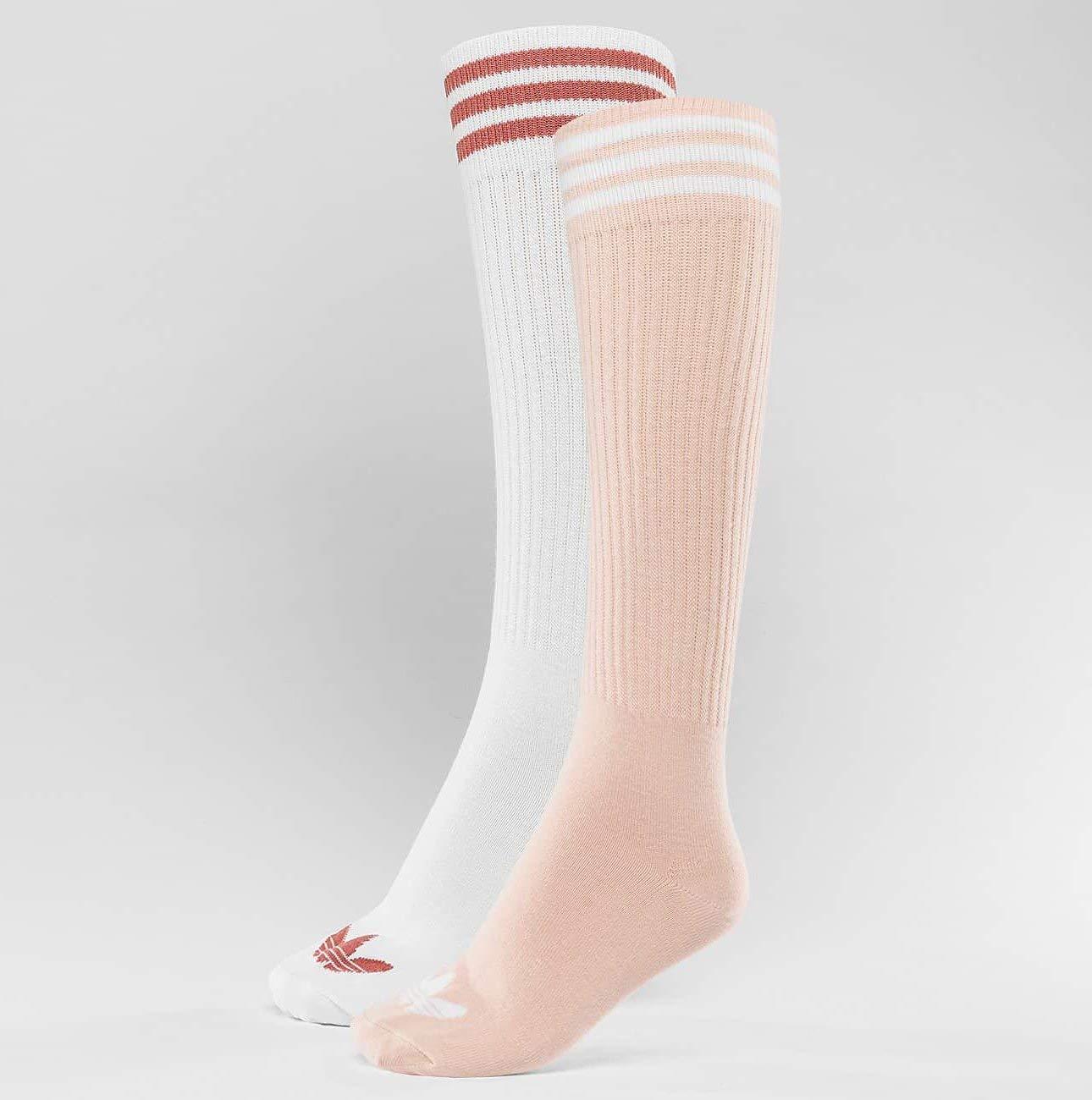 Adidas S Knee so 2Pp Calze, Unisex Bambini, CE5718, Nero (Nero/Bianco), 35/38