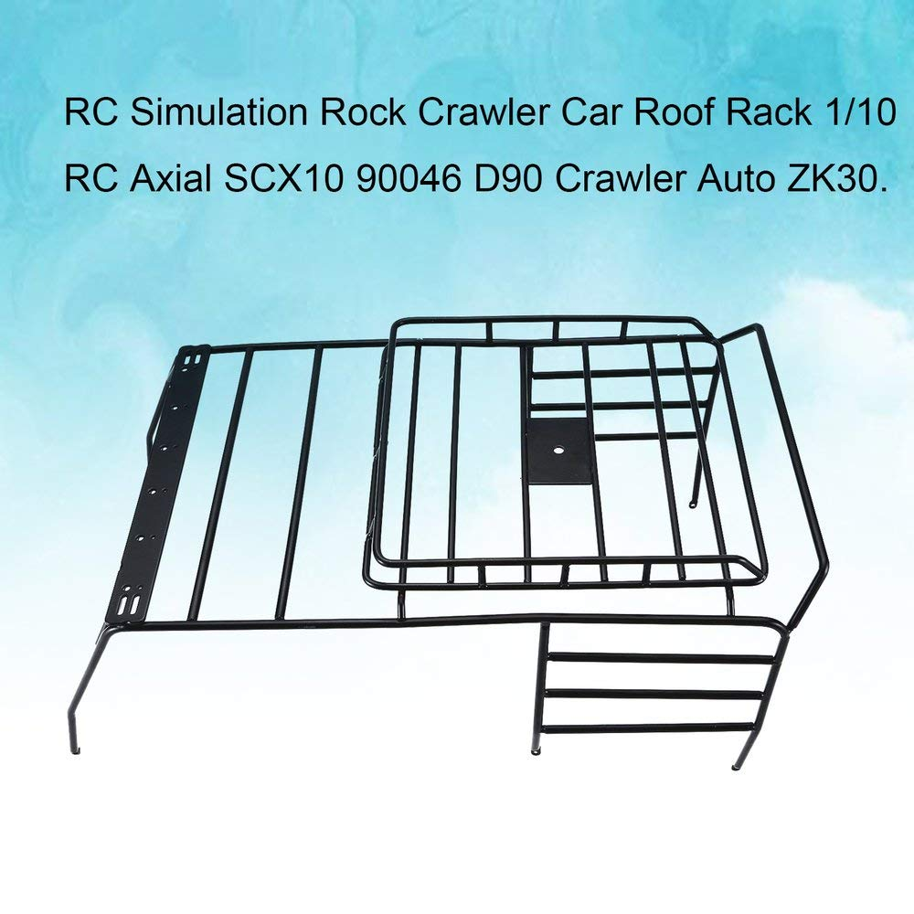 b52ded62d7d FDBF Metal Luggage Roof Rack for 1/10 Jeep Crawler RC Car Parts Accessories  Jardín