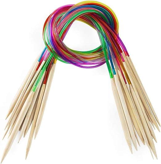 Agujas De Tejer Cable Hola Hola Conjunto de 3