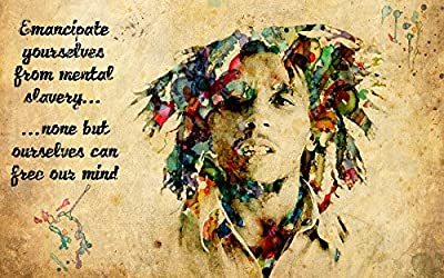 Bob Marley Quote Poster Paper Print (18 inch X 12 inch, Rolled)