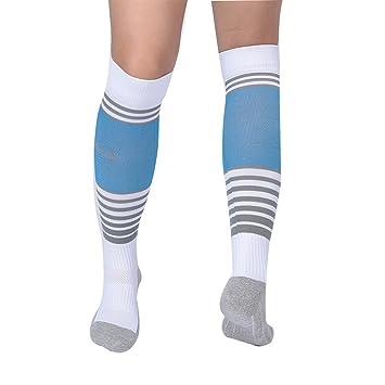 Tbest Calcetines Calcetines de los Deportes del fútbol Los Niños Deporte de FúTbol Sudadera Resistente al Desgaste para niños, Calcetines Deportivos de ...