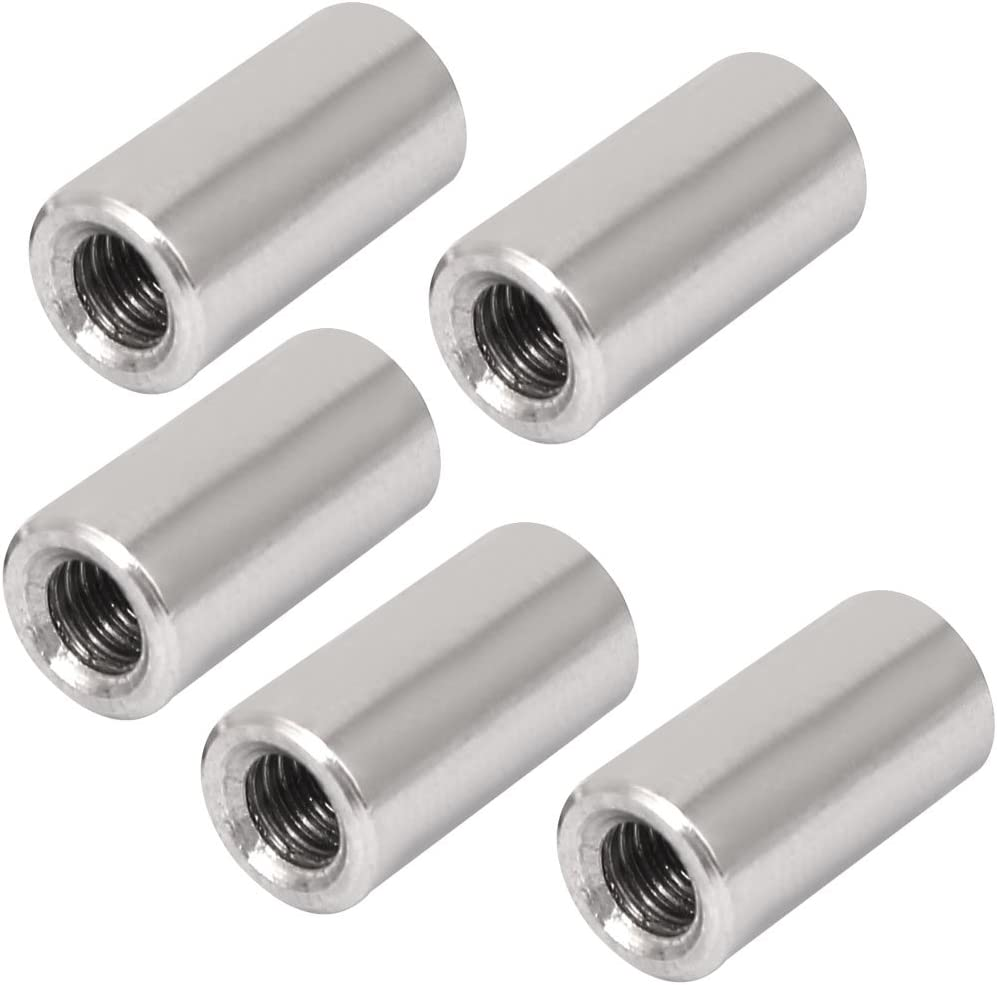 """1//4/""""-28 RIGHT HAND THREAD MALE ROD END WITH 1//4/"""" DIA MALE STUD LOT OF 4"""