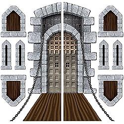 Castle Door & Window Props Party Accessory (1 count) (9/Pkg)