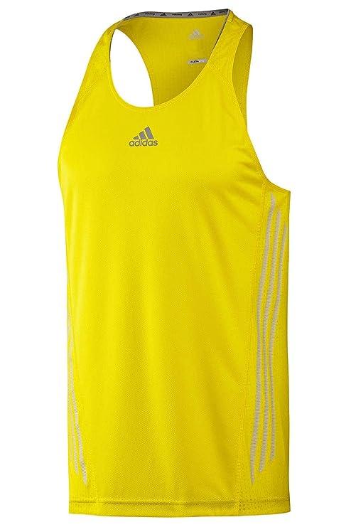 Adidas Supernova - Camiseta para Hombre, Color - Amarillo/Gris, tamaño XL