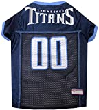 NFL TENNESSEE TITANS DOG Jersey, Large