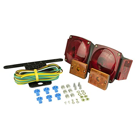61EwPN7y%2B2L._SY463_ amazon com blazer c6423 square trailer light kit red automotive Wiring for Hampton Bay Ceiling Fan Light Kit at gsmportal.co