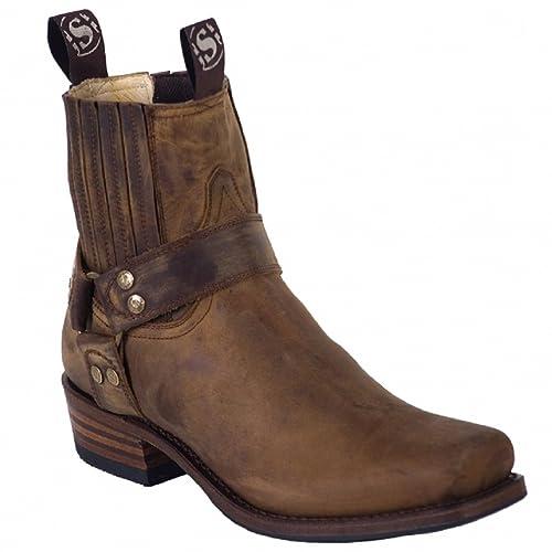 Sendra Boots 8286MO marrón con calzador Original Mosquito®: Amazon.es: Zapatos y complementos