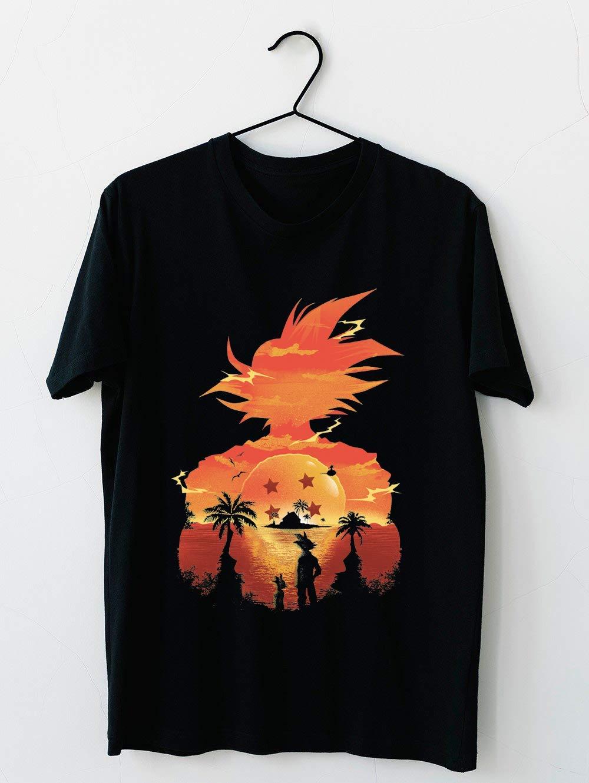 Dragonball Sunset T Shirt For Unisex
