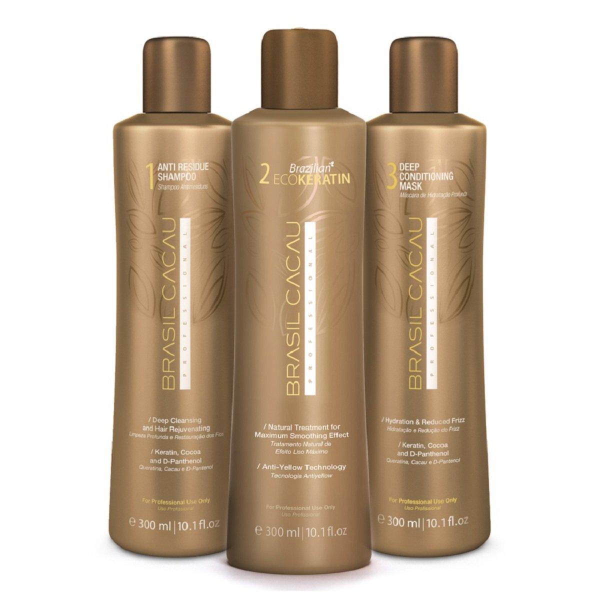 Buy Brasil Cacau Eco Keratin Brazilian Keratin Treatment Blow Dry Hair Straightening Online At Low Prices In India Amazon In