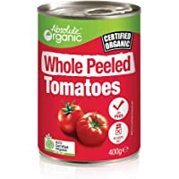 Absolute Organic Whole Peeled Tomatoes, 400g