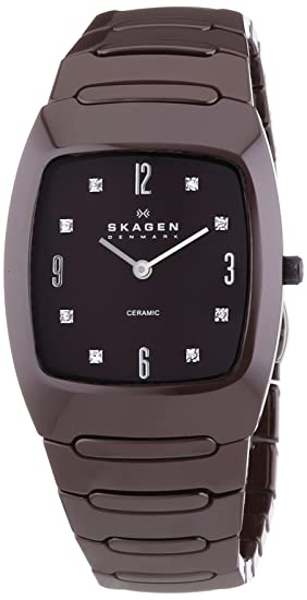 Skagen 914SDXC - Reloj analógico para mujer de acero inoxidable negro