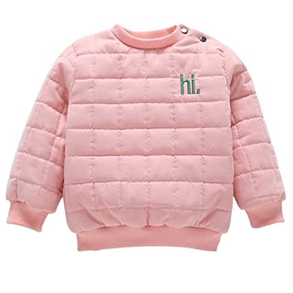 cutelove – Chaqueta para niños de chaqueta de abrigo bebé niño Niña niños chaqueta cálida invierno