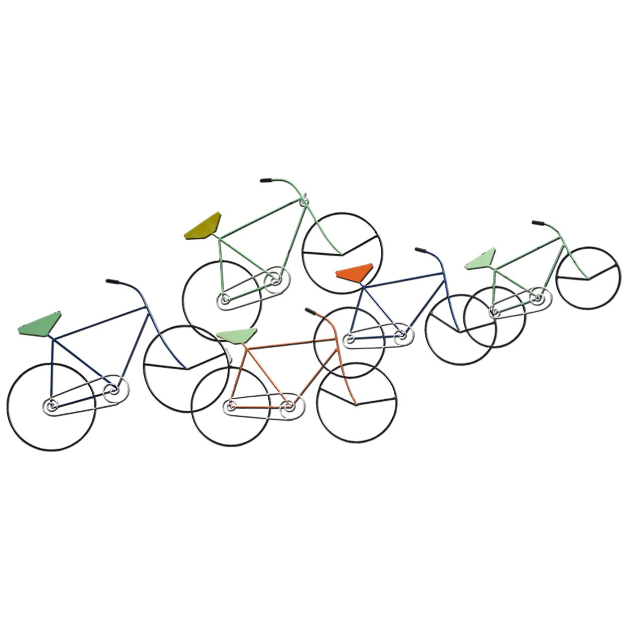 Carrick Design Metal Wall Art in Bici 107 x 48 cm 2050595