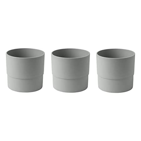 Ikea Nypon Set Di 3 Vasi Per Piante In Plastica 15 Cm