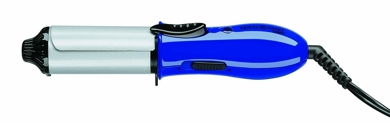 Conair Travel Smart 1 Ceramic Mini Curling Iron Blue TS63R