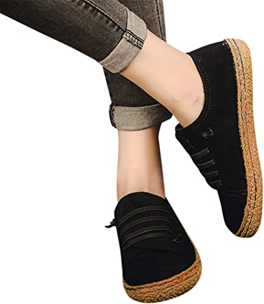 Aunimeifly Womens Flat-Bottomed Suede