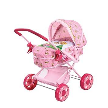 Amazon.es: Rocco Giocattoli 21580153 - Carrito para muñecas, disñeo de Abeja Maya: Juguetes y juegos