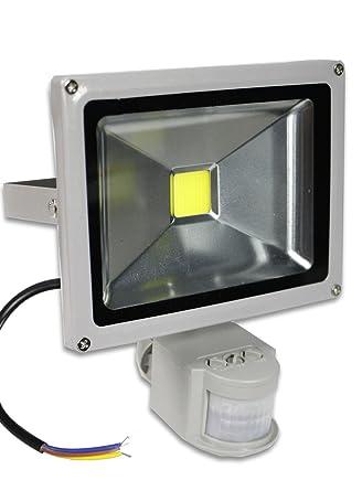 vetrineinrete Faro LED SMD Proyector 20 W Sensor de movimiento ...