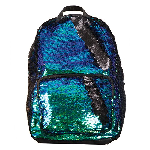 Style.Labs Magic Sequin Backpack, Mermaid/Black (76466)