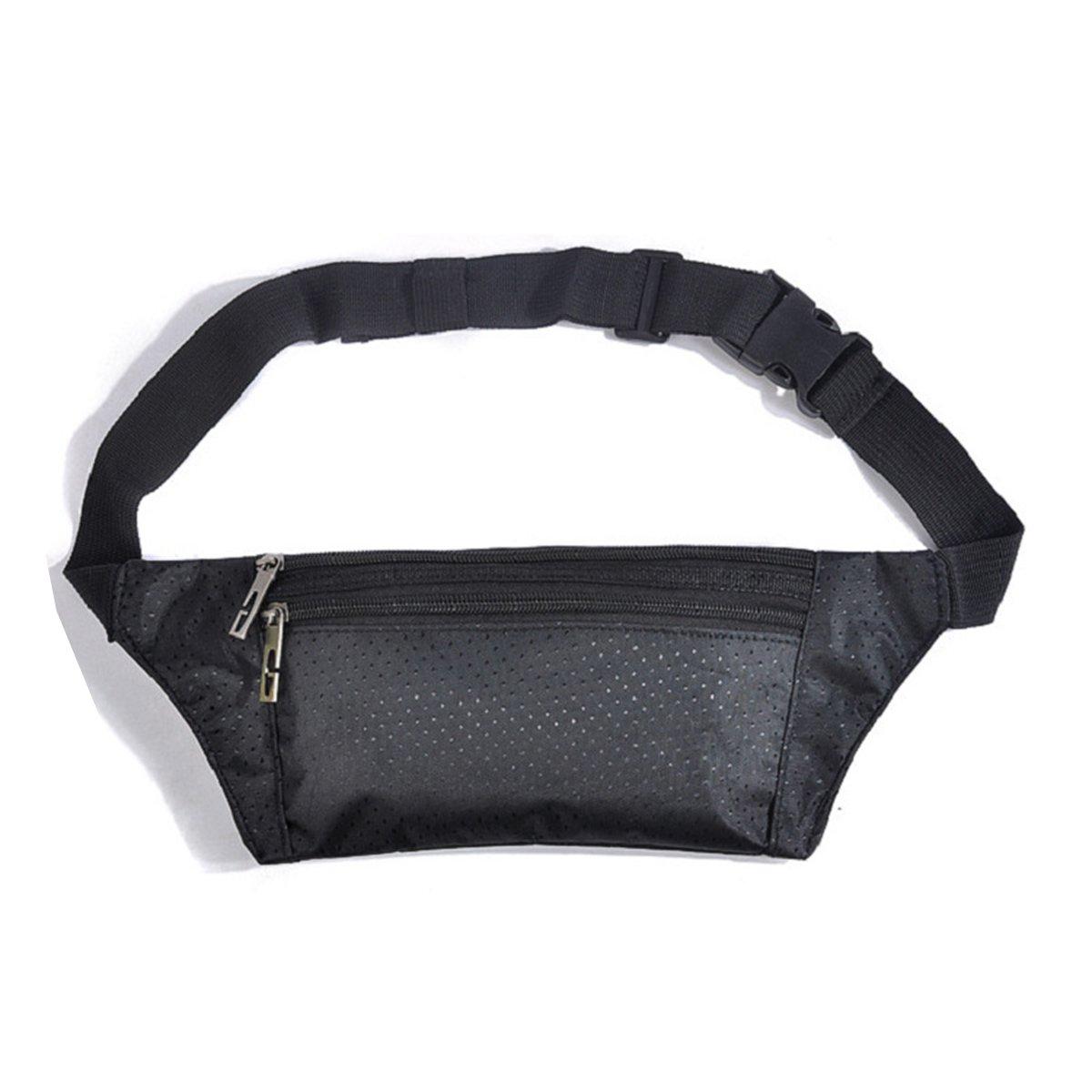 Running Belt Bum Bag Waterproof Fanny Pack Lightweight Adjustable Travel Waist Belt Bag Unisex