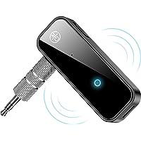 Receptor Bluetooth 5.0 para Auto,Bluetooth música audio estéreo adaptador receptor,Manos Libres Bluetooth Receiver de…