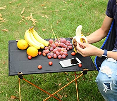 Sportneer Portable Lightweight Folding Hiking Picnic Camping Table and Chair