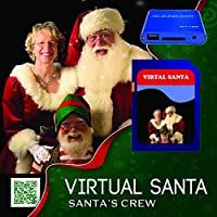 Virtual Santa In The Window Media Player Bundle 1