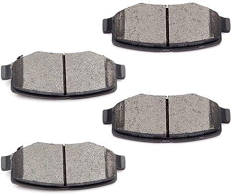 Rear Ceramic Brake Pads For 2008 2009 2010 2011 NITRO JEEP LIBERTY WRANGLER