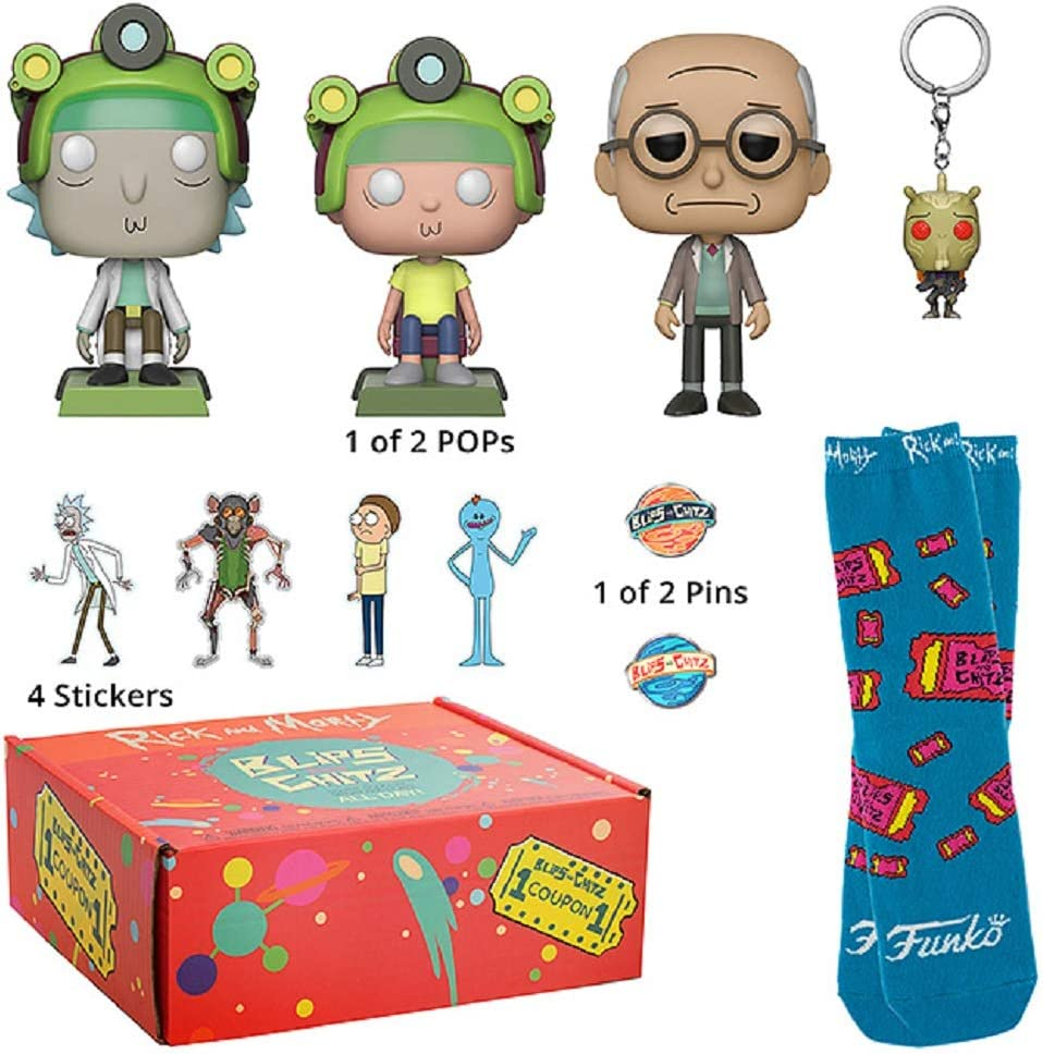 Funko 34862 Rick and Morty: Blips & Chitz Mystery Box: Amazon.es: Juguetes y juegos