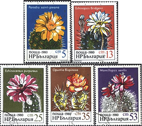 Bulgaria 2946-2950 (complete.issue.) 1980 Cacti (Stamps for collectors)