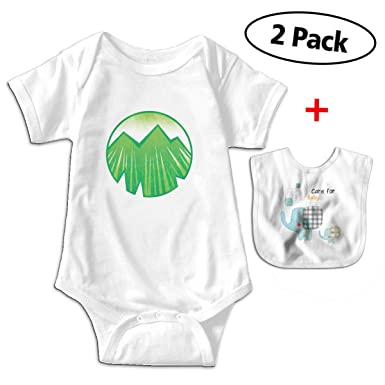 56fb8fb62 Funny Element Icon Earth Toddler Climbing Clothes Bodysuit with Free Baby  Bibs