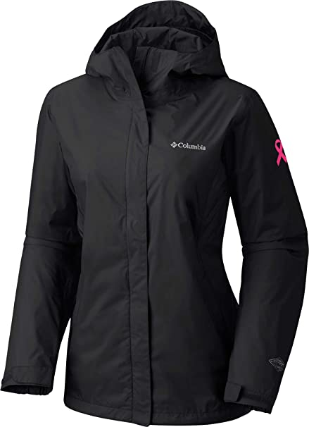 Columbia Womens Tested Tough in Pink Rain Jacket Ii